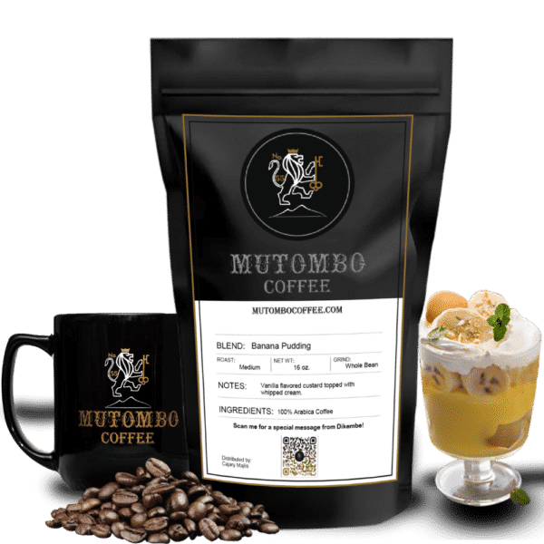 Banana Pudding - Most popular Mutombo Flavoured Coffee