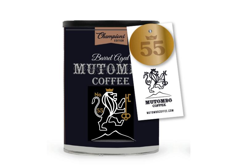 Mutombo Coffee champions edition Barrel