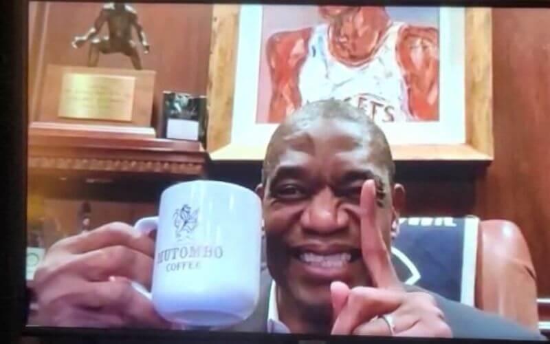 Dikembe on NBA on TNT Postgame Show