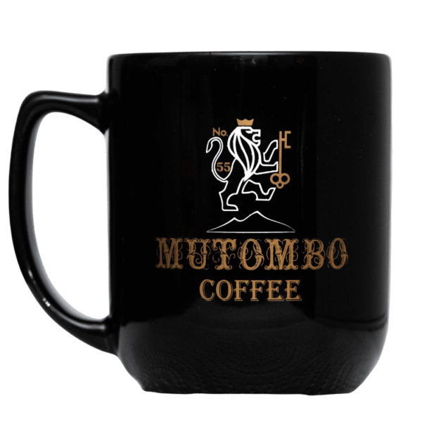 Mt Mutombo Special edition Coffee Mug - Black Color