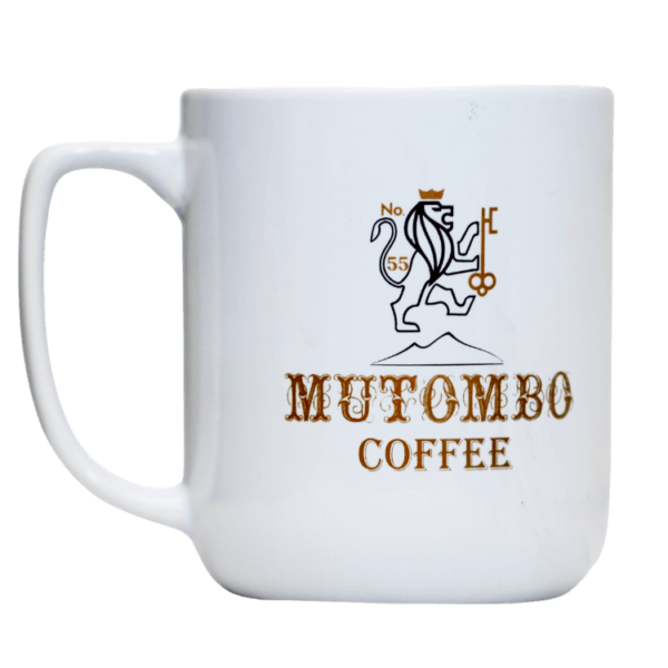 Mt Mutombo Special edition Coffee Mug - White Color