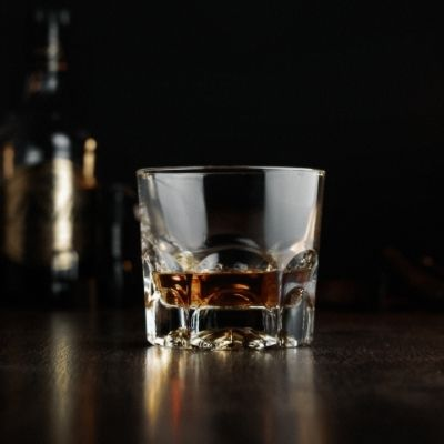 A shot of whiskey, thanks!