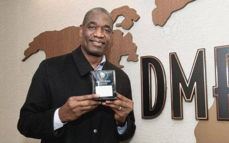 In The News - A coffee company led by former Hawks star Dikembe Mutombo aims to provide economic sustainability to poor farming communities in Africa — especially women farmers, who sometimes climb thousands of miles above sea-level to pick the most valuable beans.