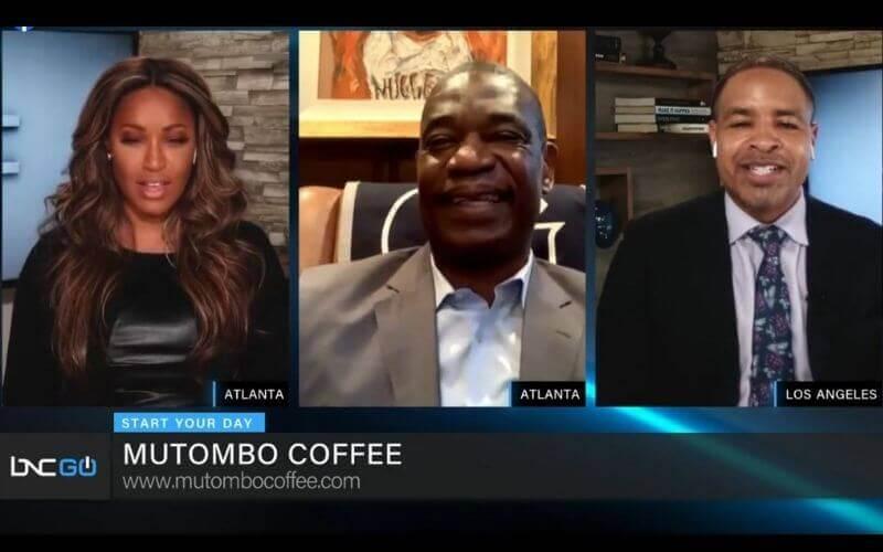 NBA Legend Dikembe Mutombo Discusses New Company Mutombo Coffee