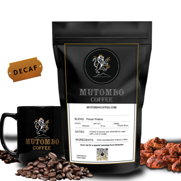 Pecan Praline Decaf coffee