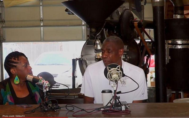 Dikembe Mutombo and Cafe Partner Jason Wilson Talk Coffee with SMilesTV